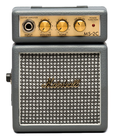 Marshall MS-2C Classic Gray Micro Stack Guitar Amp