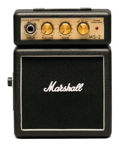 Marshall MS-2 Black Micro Stack Electric Guitar Amp