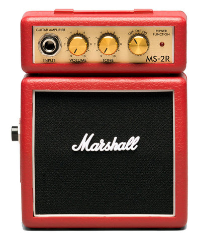 Marshall MS-2R Red Micro Stack Electric Guitar Amp