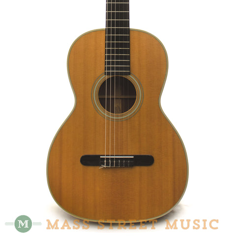 Martin 1967 00-28C Brazilian Rosewood Classical Guitar - front close