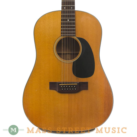 Martin D-12-20 1970 Used Acoustic 12-string Guitar - front close