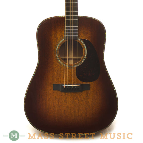 Martin D-14 F Mahogany Custom Shop Acoustic Guitar - front close