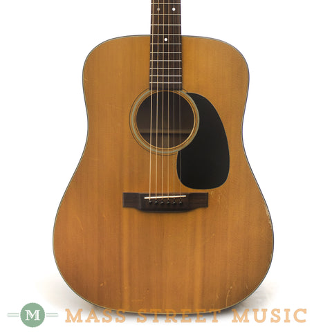 Martin 1971 D-18 Acoustic Guitars - front close