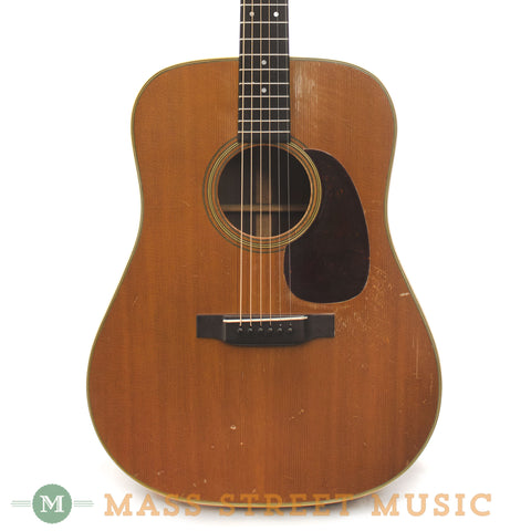Martin 1949 D-28 Acoustic Guitar - front close