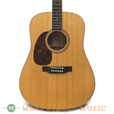 Martin D16RTG Lefty 2008 Used Acoustic Guitar - front close
