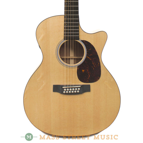 Martin GPC12PA4 12-String Acoustic Guitar - front close