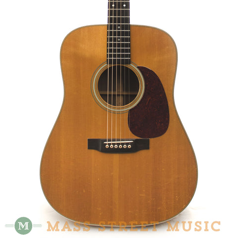 Martin 1986 HD-28 Brazilian Dreadnought - front close