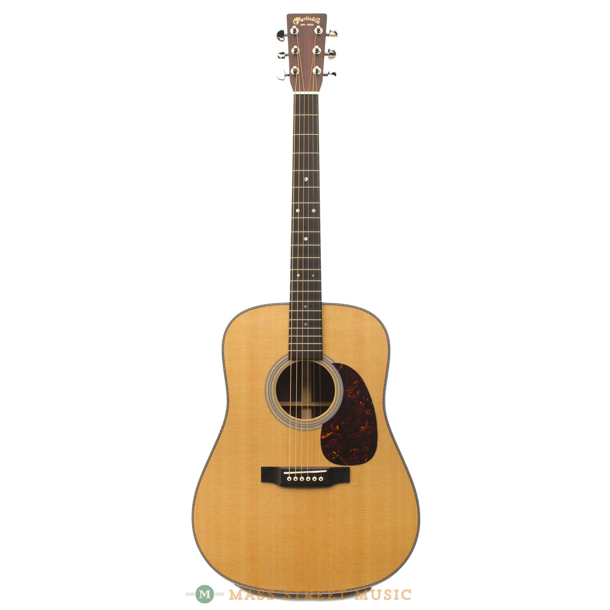 martin hd 28 dreadnought with hardshell case mass street music store. Black Bedroom Furniture Sets. Home Design Ideas
