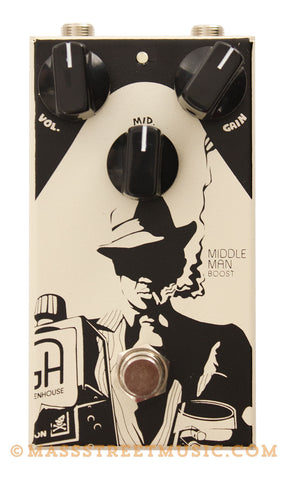 Greenhouse FX Middle Man Boost Pedal - front