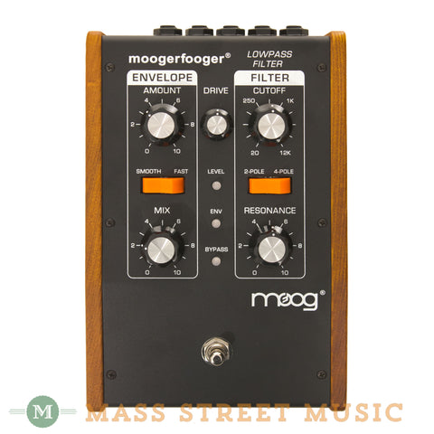 Moog MF-101 Moogerfooger Low Pass Filter Pedal - front