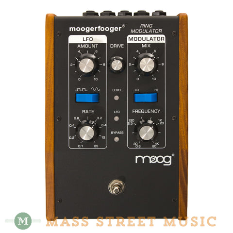 Moog MF-102 Ring Modulator Pedal - front