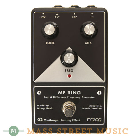 Moog MF Ring Modulation Minifooger Pedal - front