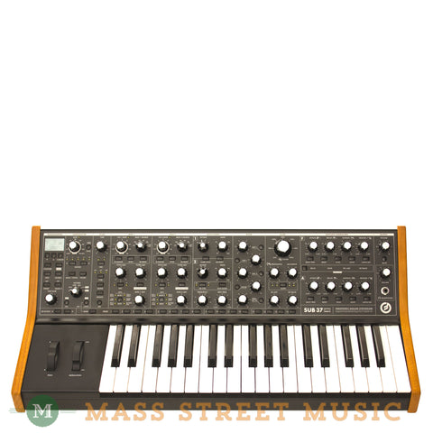 Moog Sub 37 Tribute Synthesizer - front
