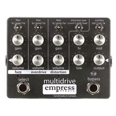 Empress Effects Multidrive pedal, front