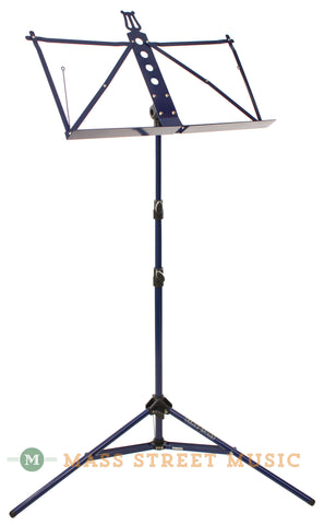 Strukture 3-Part Adjustable Music Stand, Blue