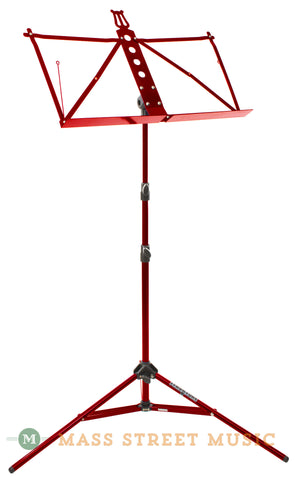 Strukture 3-Part Adjustable Music Stand, Red