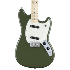 Fender Mustang - Olive - Front Close