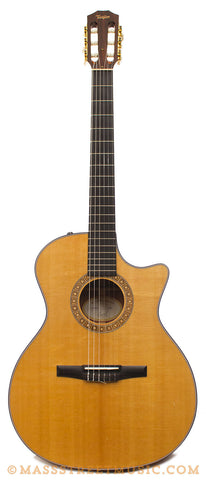Taylor NS34ce Nylon String Acoustic Guitar - front