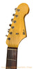 Seuf OH19 Electric Guitar - front headstock