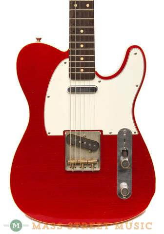 Seuf OH-20 Candy Apple Red Electric Guitar - body