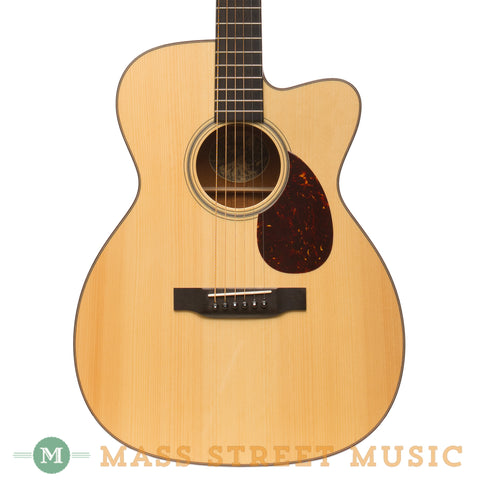 Collings Acoustic Guitars - OM1A Cutaway - Front Close