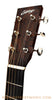 Collings OM1A Light Build Acoustic Guitar - headstock