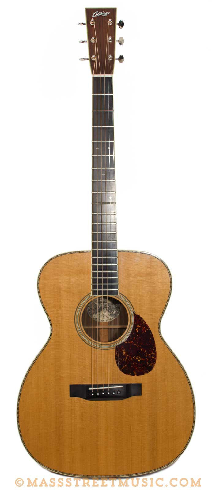 collings 1993 om2h custom used acoustic guitar mass street music store. Black Bedroom Furniture Sets. Home Design Ideas