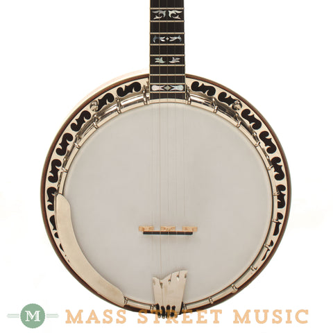 Ome Odyssey Bluegrass Banjo - front close
