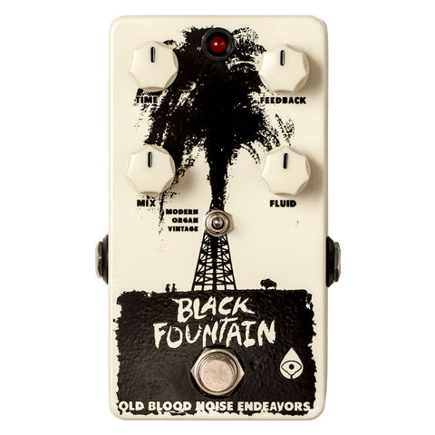 Old Blood Noise Endeavors Black Fountain Delay Pedal