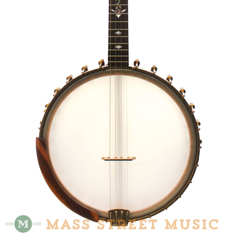 Ome Used Juniper Tenor Banjo - front close