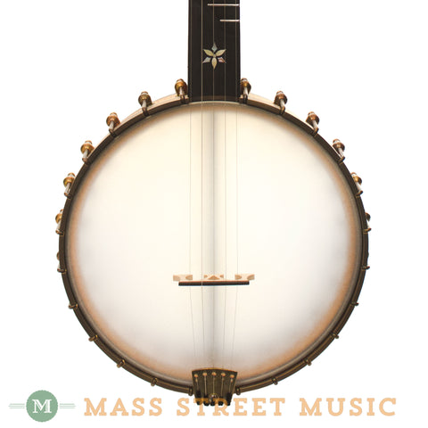 Ome Mira Open-Back Banjo - front close