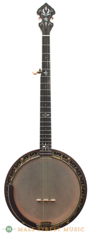 ome north star vintage bluegrass 11 resonator banjo front