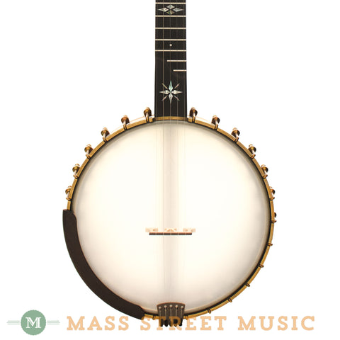 "Ome North Star Custom 12"" Open-Back Banjo - front close"