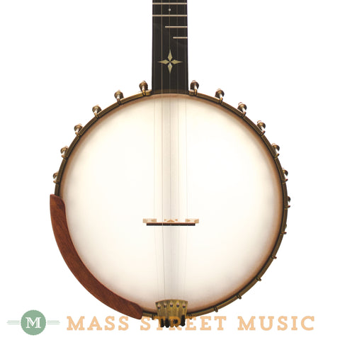 Ome Wizard 5-String Open-Back Banjo - front close