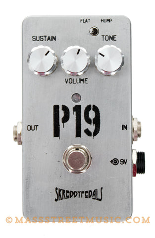 Skreddy P19 Fuzz Pedal - top