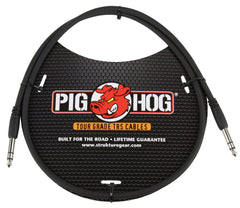 "Pig Hog Cables - Balanced 1/4"" TRS Cable - 3ft"