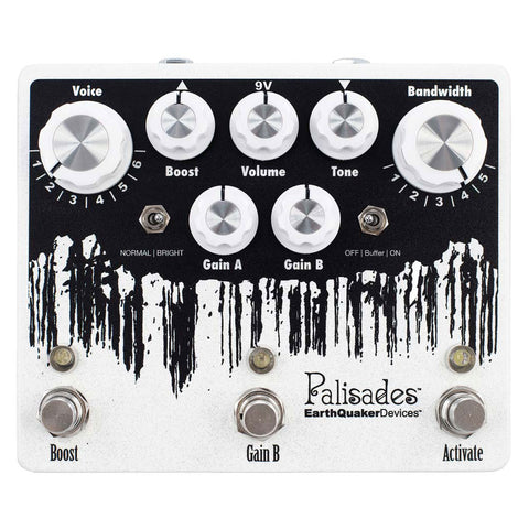 EarthQuaker Devices - Palisades v2 Overdrive