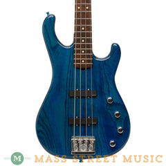 Lower Groove - Paragon 4 Bass - Blue Lagoon - Front Close