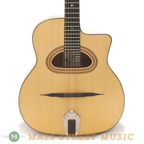 Paris Swing GG-42 Acoustic Guitar - front close