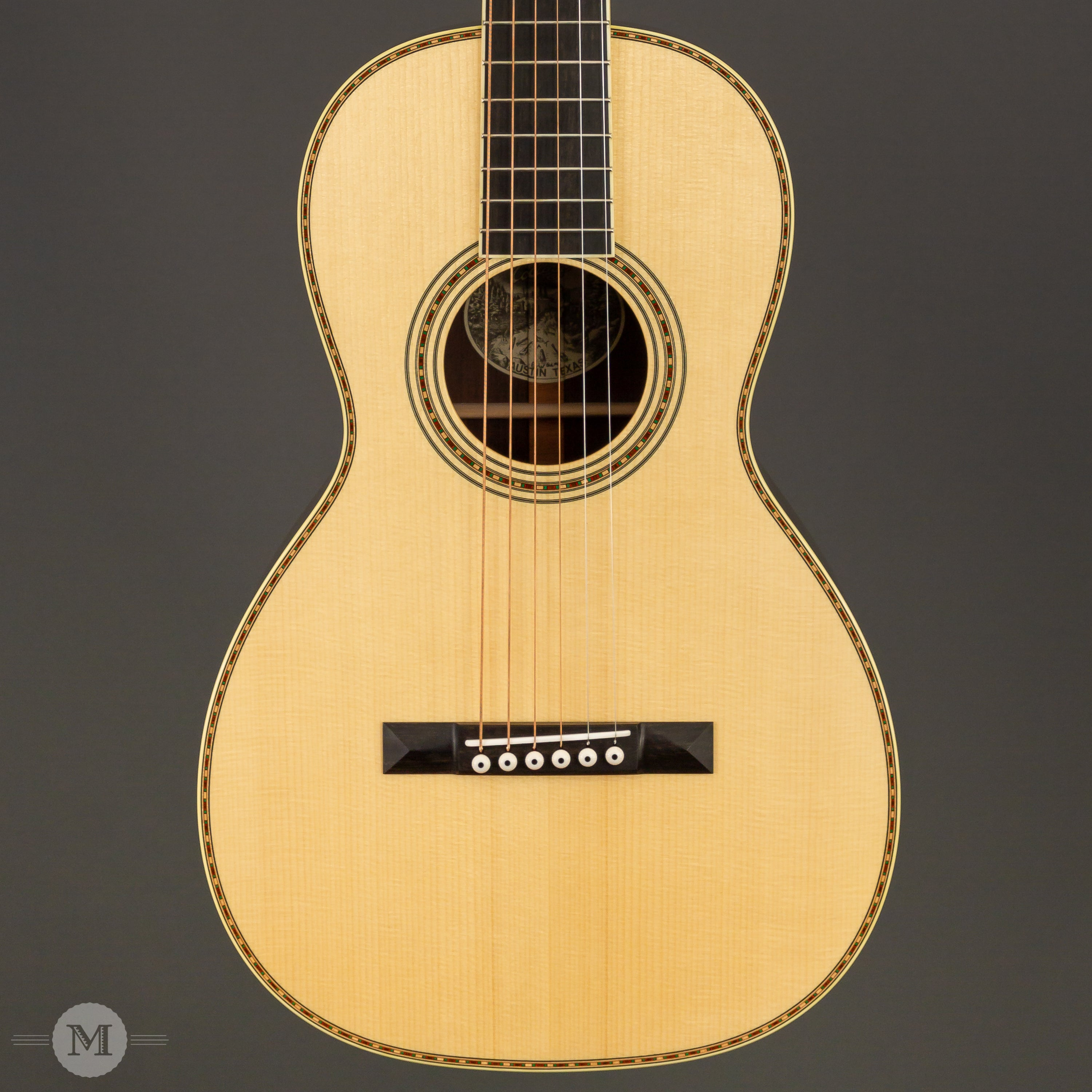 Collings Guitars - Parlor Deluxe 2HA MR Traditional T Series - Madagascar Rosewood
