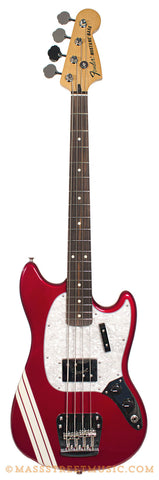 Fender Pawn Shop Mustang Bass Red - front