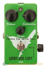 Wren and Cuff Effect Pedals - Pickle Pie Hella Bass Fuzz