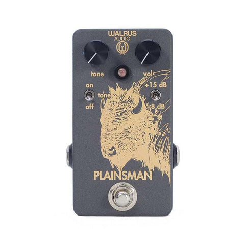 Walrus Audio - Plainsman Dual Stage Booster - Front Stock