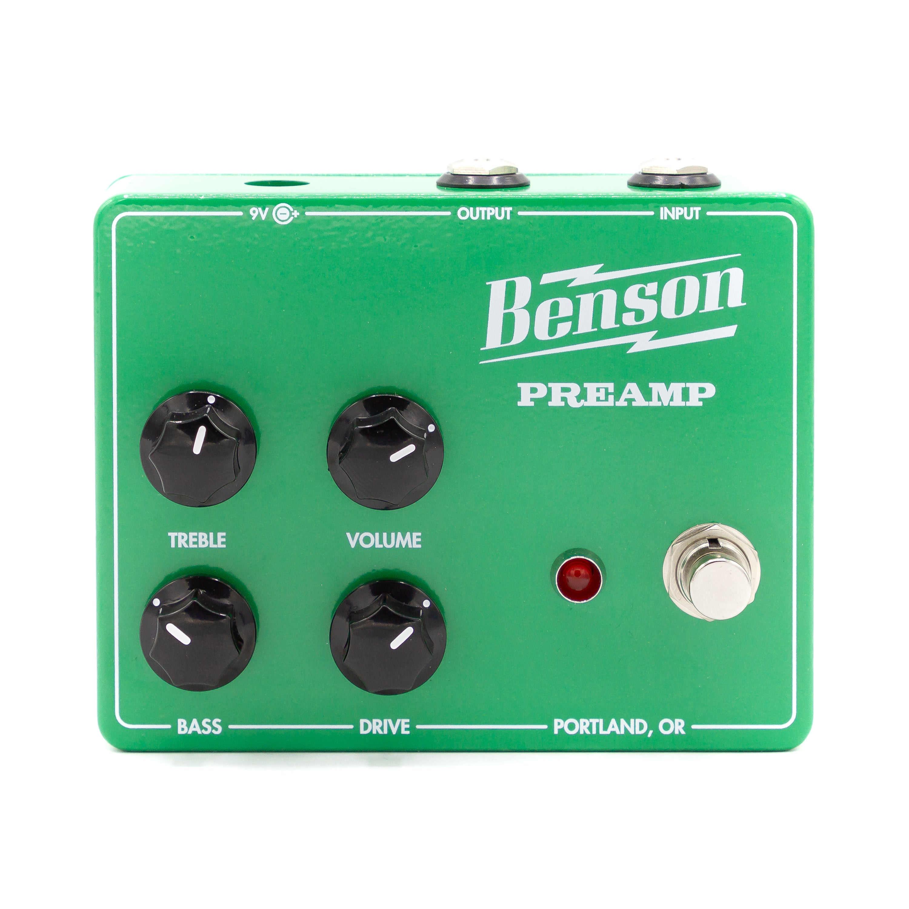 Benson Amps - Preamp Pedal - MSM Exclusive Green