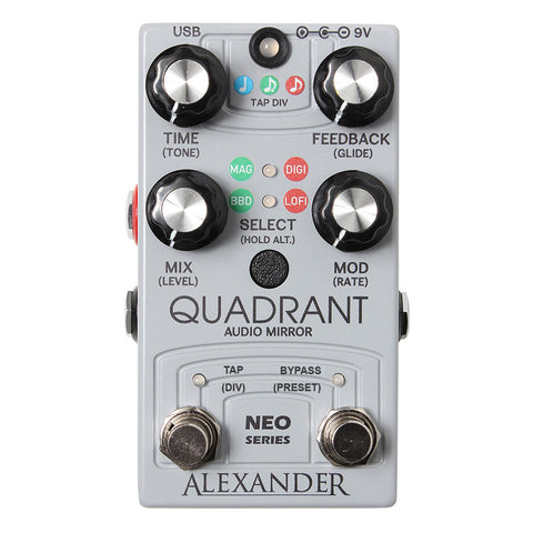 Alexander - Quadrant Audio Mirror
