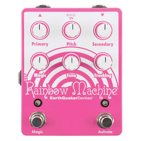 Earthquaker Devices Guitar Pedals - Rainbow Machine V2