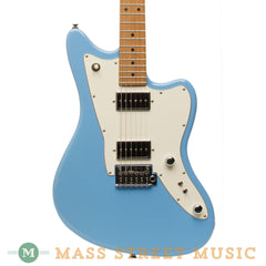 Tom Anderson Electric Guitars - Raven Classic Shorty - Baby Blue - Front Close