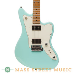 Tom Anderson Electric Guitars - Raven Classic Shorty - Surf Green - Front Close