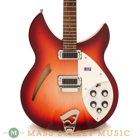 Rickenback 2011 330 Fireglo Electric Guitar - front close