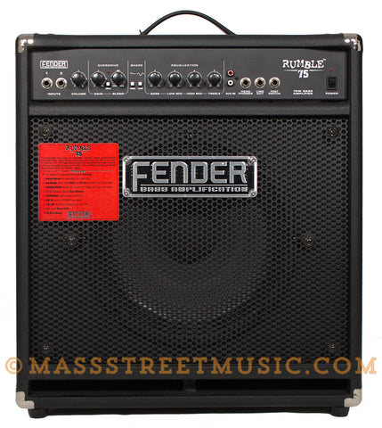 Fender Rumble 75 - front